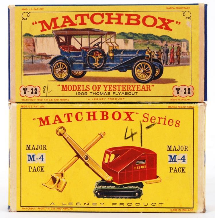 MATCHBOX: 2x vintage Matchbox