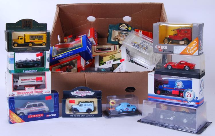 DIECAST: A large collection of