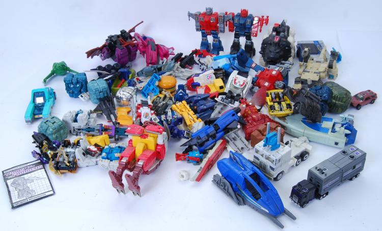 TRANSFORMERS: A large quantity