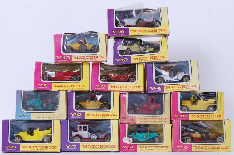 MATCHBOX MODELS OF YESTERYEAR: