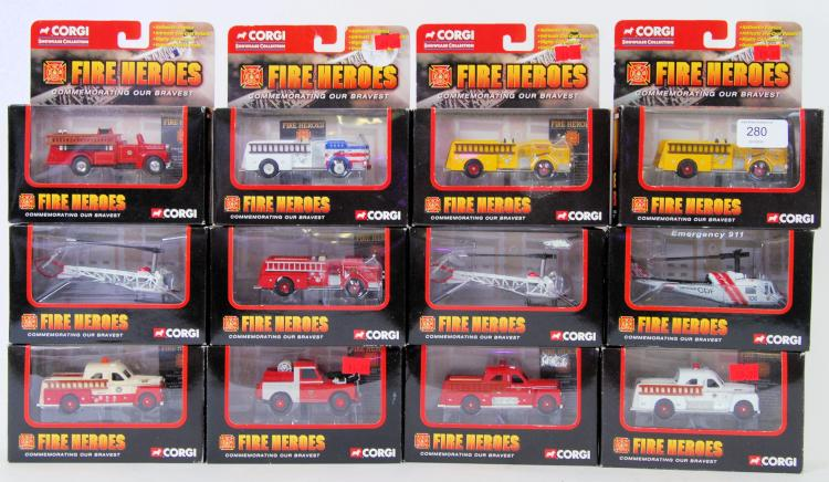CORGI FIRE HEROES: A collectio