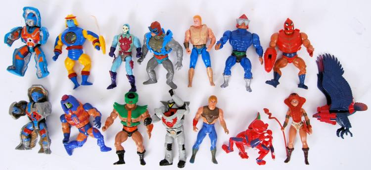 MASTERS OF THE UNIVERSE; A col