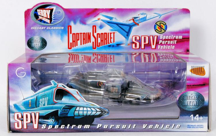 CAPTAIN SCARLET; An original P