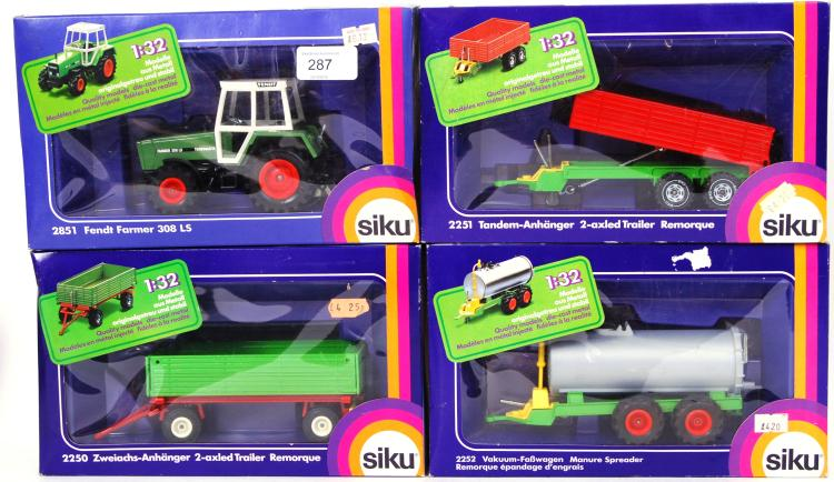 SIKU: A collection of 4x dieca