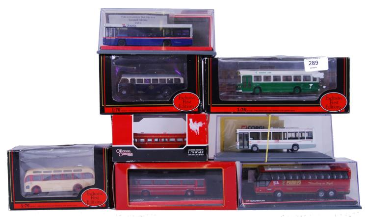 DIECAST BUSES: A collection of