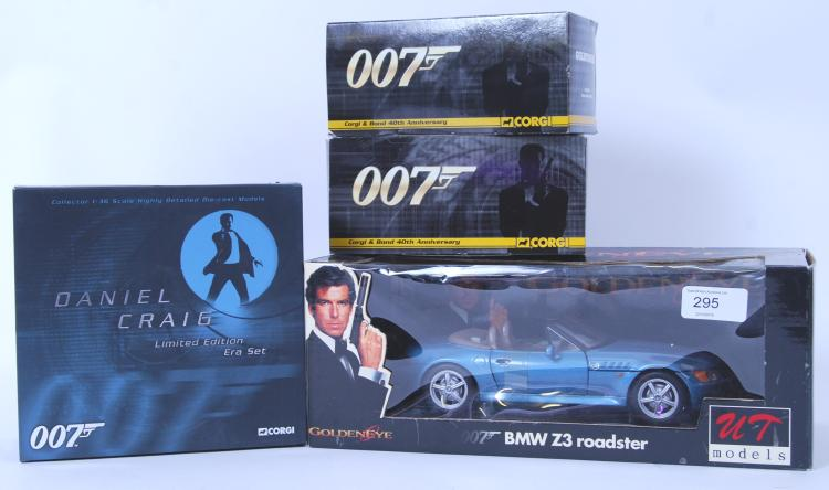JAMES BOND: A collection of as
