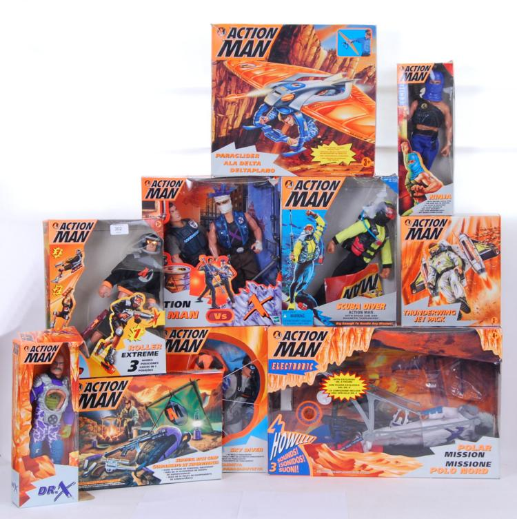 ACTION MAN: A large collection