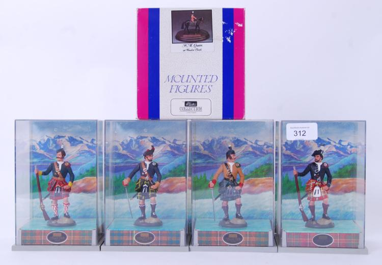 BRITAINS: A collection of 4x B