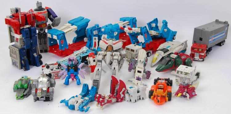 TRANSFORMERS: A large collecti