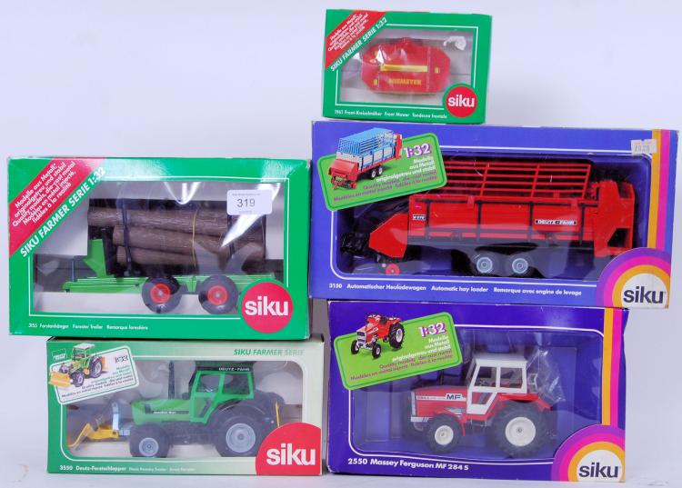 SIKU: A collection of 5x boxed