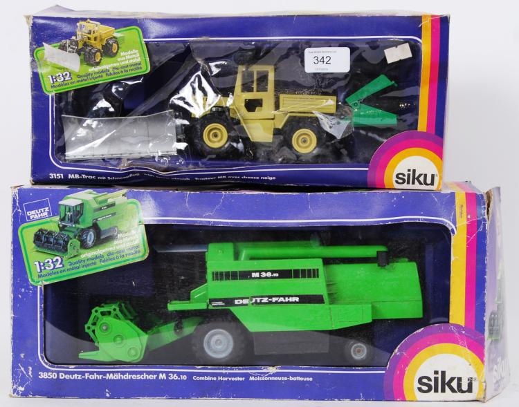 SIKU: Two Siku diecast model f