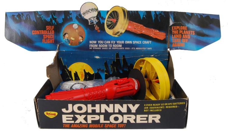 RARE JOHNNY EXPLORER: A rare v