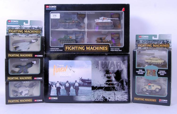 CORGI FIGHTING MACHINES: A col