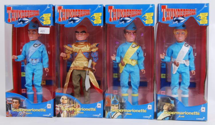 THUNDERBIRDS: A set of 4x Carl