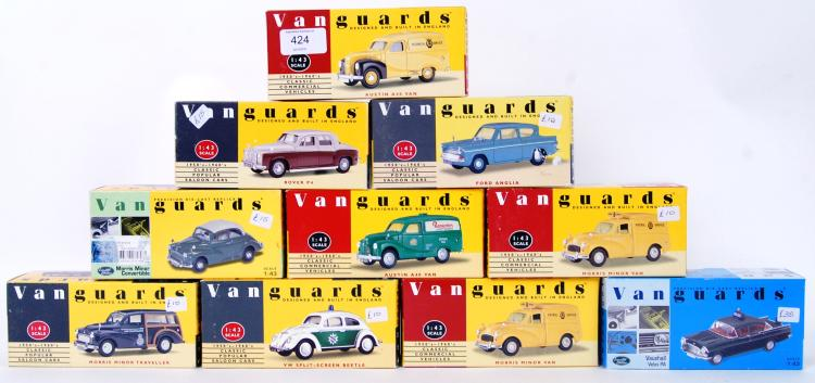 VANGUARDS: A collection of 10x