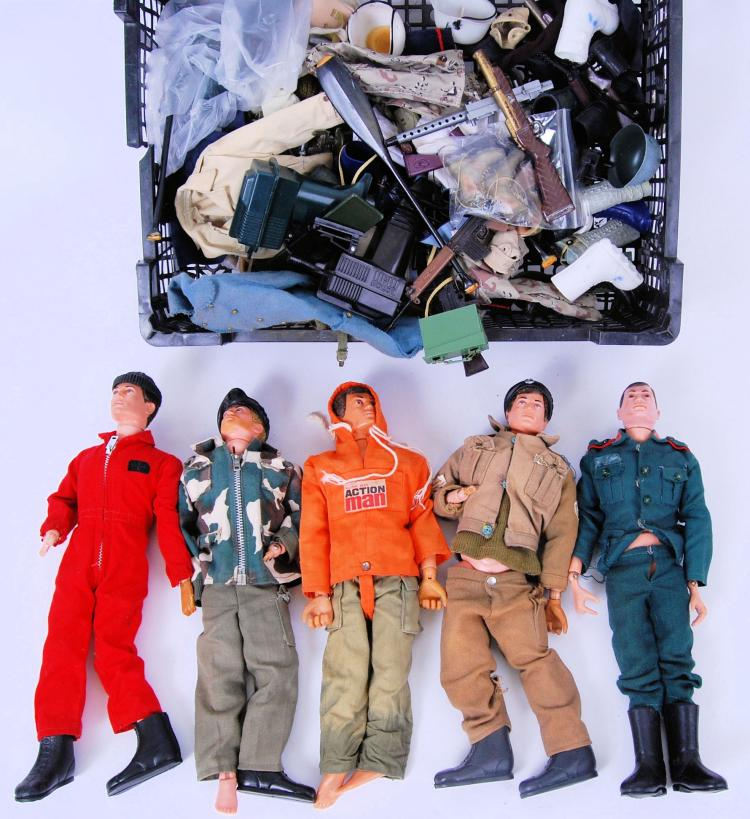 ACTION MAN: A collection of 5x
