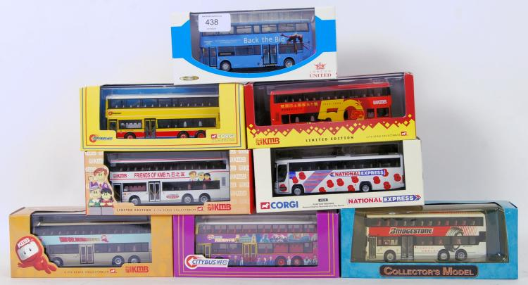 BUSES: A collection of 8x Corg