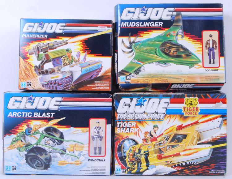 GI JOE: A collection of 4x Has