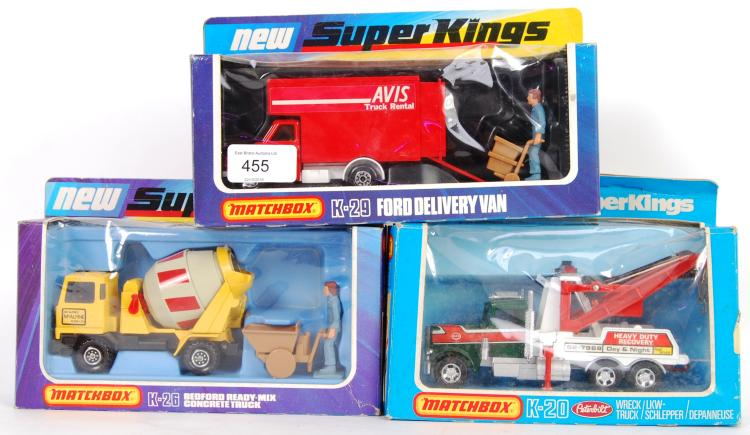 MATCHBOX SUPERKINGS: A collect