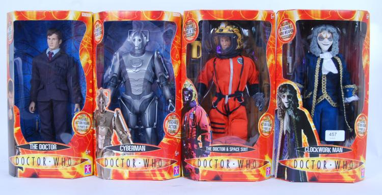 DOCTOR WHO: A collection of 4x