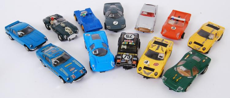 SCALEXTRIC: A collection of 12