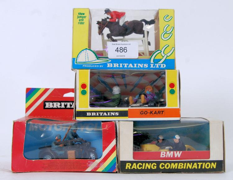 BRITAINS: A collection of 4x a