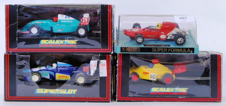 SCALEXTRIC: A collection of 4x