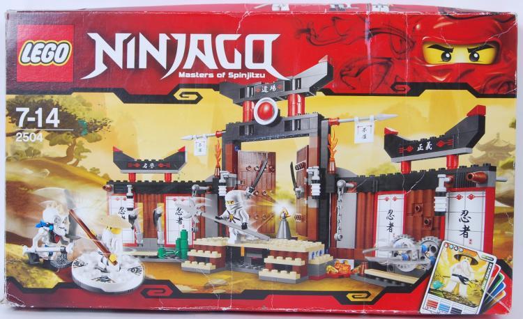 LEGO: A Lego Ninjago set 2504.