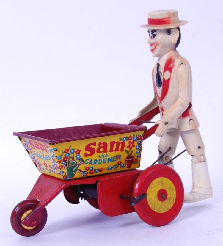 MARX SAM THE GARDENER: A rare