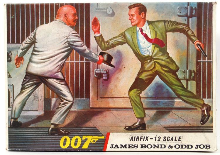 RARE JAMES BOND AIRFIX: A rare