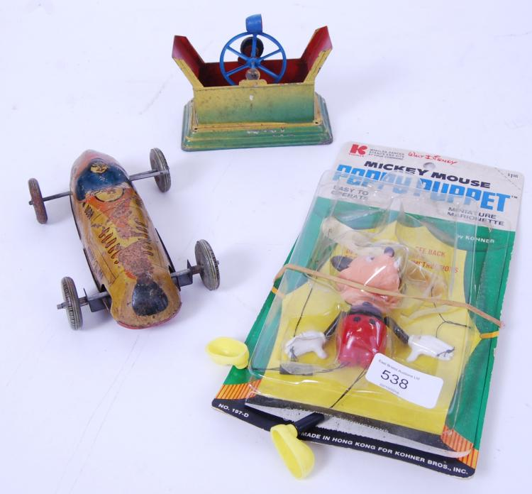 VINTAGE TOYS: A collection of