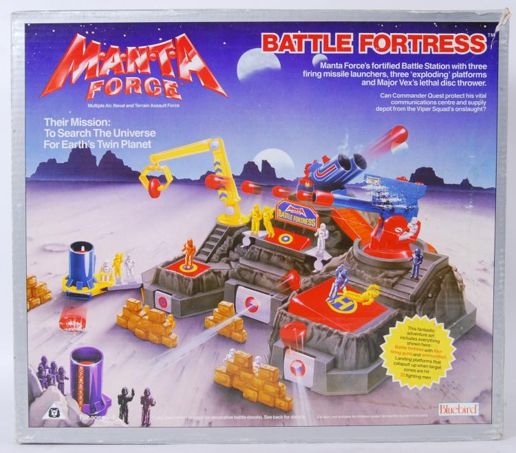 MANTA FORCE: A vintage Bluebir