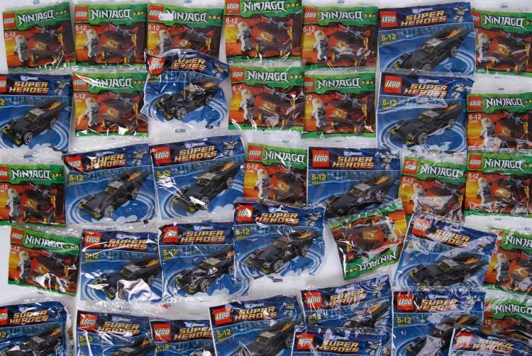 LEGO: An original trade box of