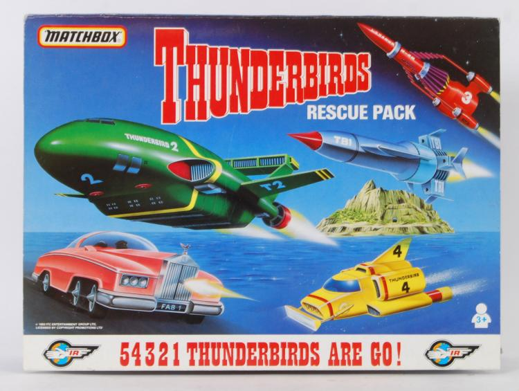 THUNDERBIRDS: A Matchbox prese