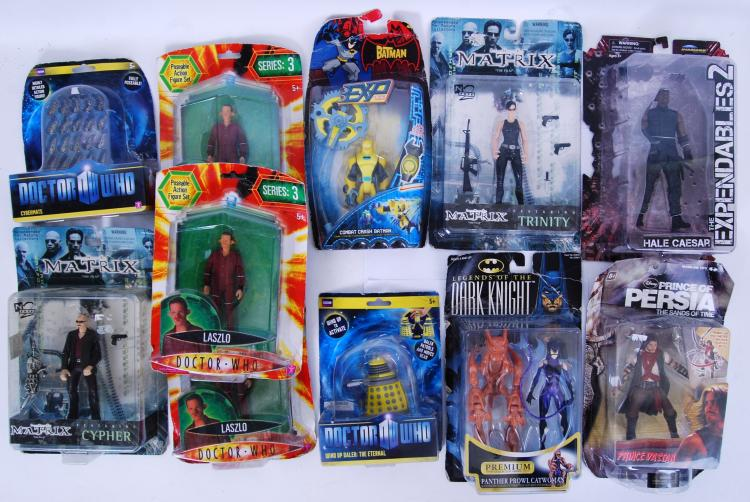 ACTION FIGURES: A collection o