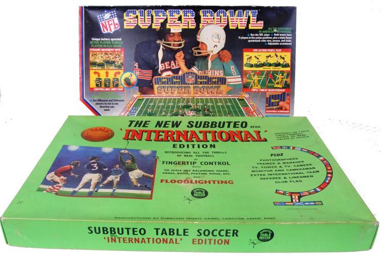 SPORT GAMES; Two vintage sport