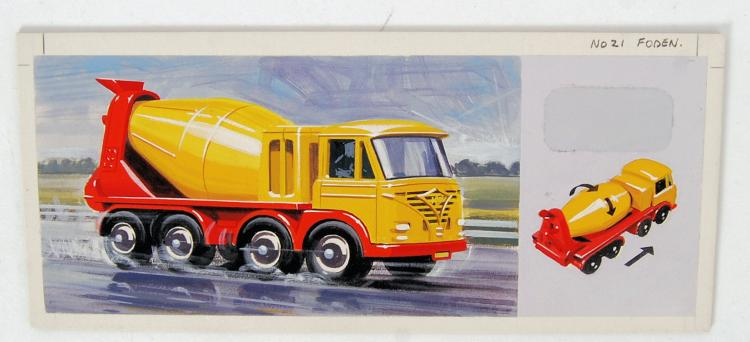 RARE MATCHBOX ARTWORK: A fabul