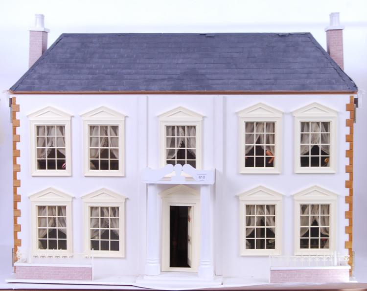 'THE MANOR' DOLLS HOUSE: A bea