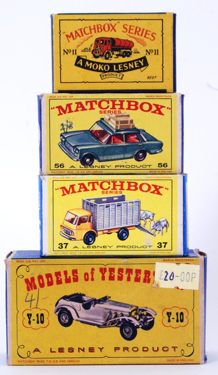 MATCHBOX: A collection of 4x M