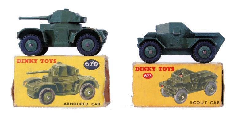 DINKY: 2x vintage Dinky diecas