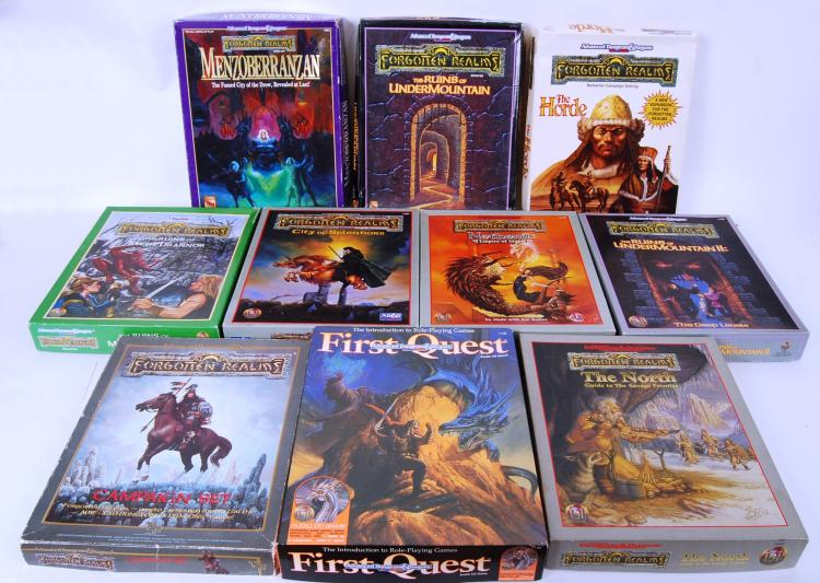 DUNGEONS & DRAGONS: A large co