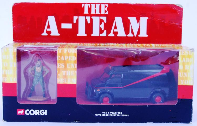 THE A TEAM: A Corgi boxed diec