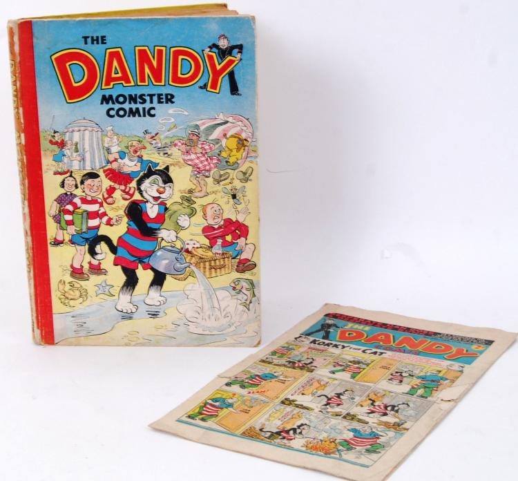 RARE DANDY MONSTER ANNUAL: A r