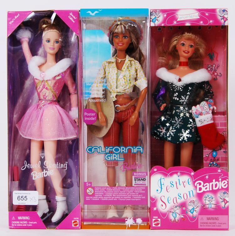 BARBIE: A collection of three