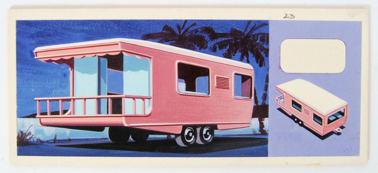RARE MATCHBOX ARTWORK: A fabul