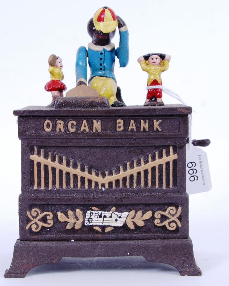 MONEY BOX: A vintage Victorian