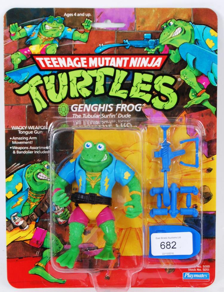 TEENAGE MUTANT NINJA TURTLES;