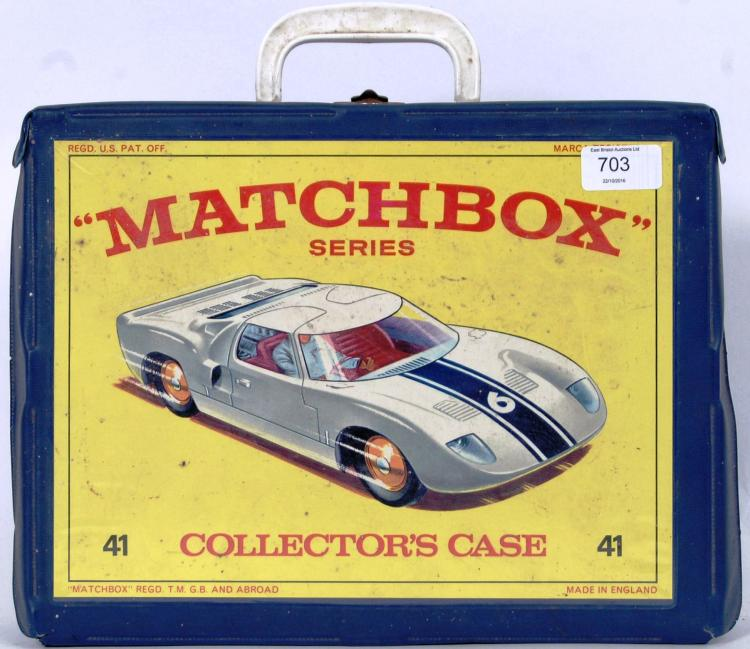 MATCHBOX: A vintage Matchbox L