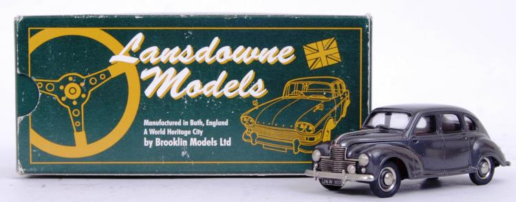 LANSDOWNE MODELS: An original