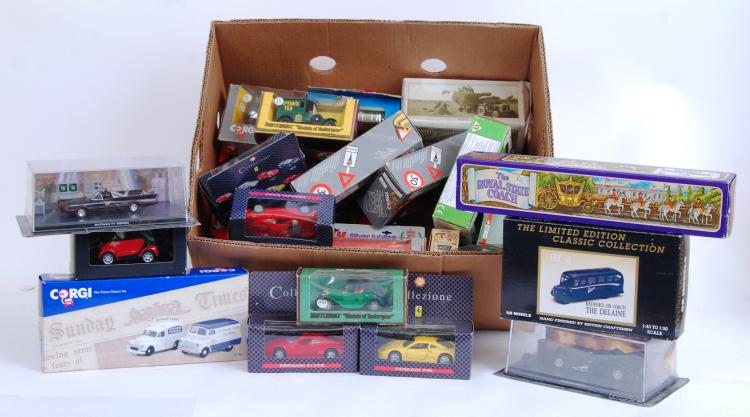 DIECAST: A good box of assorte